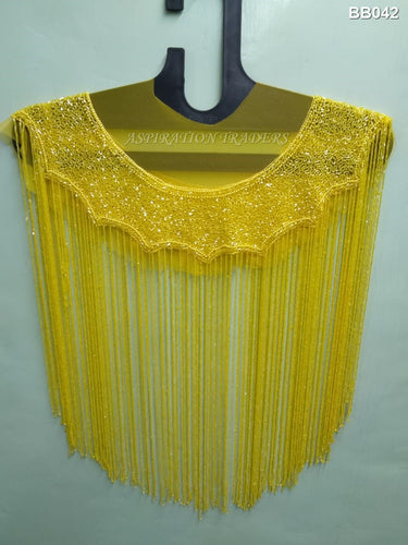 Net Lace Beaded Blouse - BB042 - Aspiration Traders