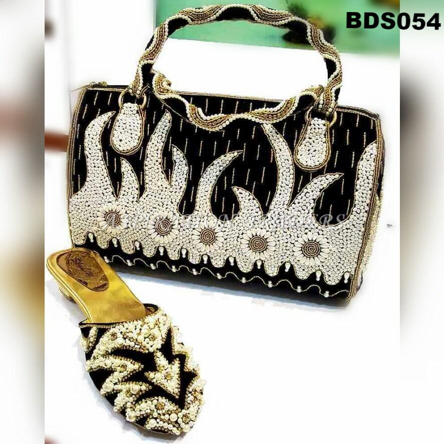 Hand Bag, Clutch & Shoes - BDS054 - Aspiration Traders