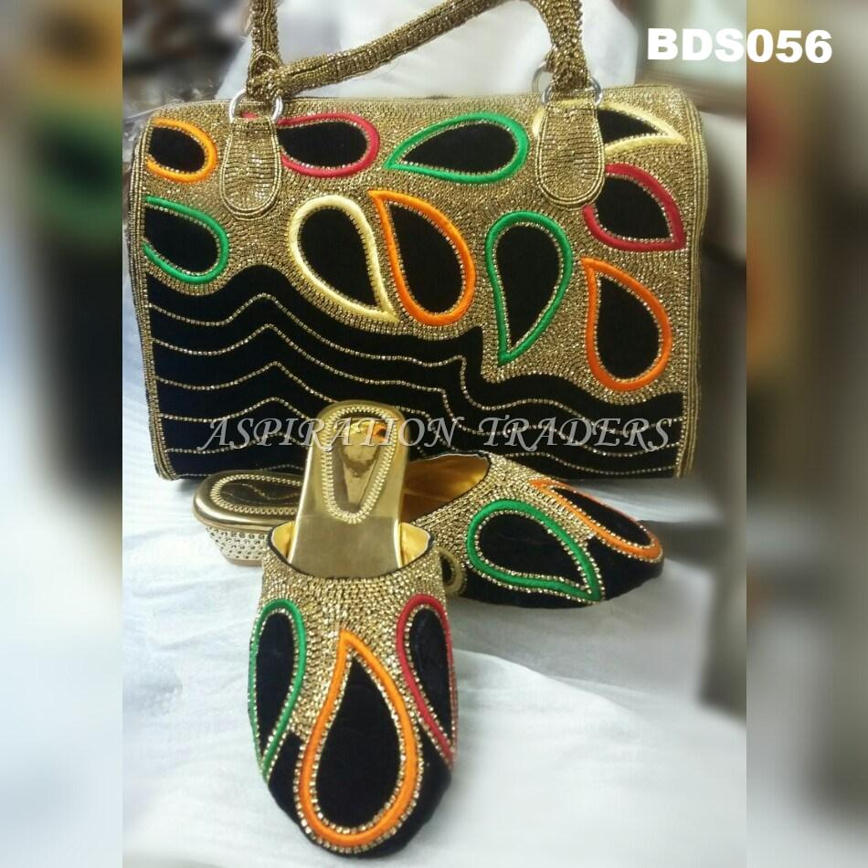 Hand Bag, Clutch & Shoes - BDS056 - Aspiration Traders