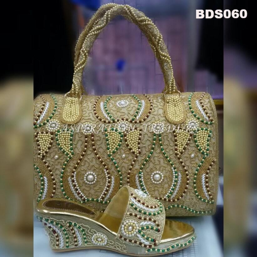 Hand Bag, Clutch & Shoes - BDS060 - Aspiration Traders