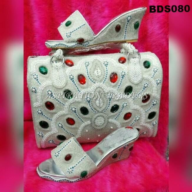 Hand Bag, Clutch & Shoes - BDS080 - Aspiration Traders