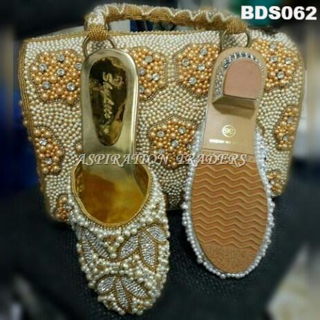 Hand Bag, Clutch & Shoes - BDS062 - Aspiration Traders