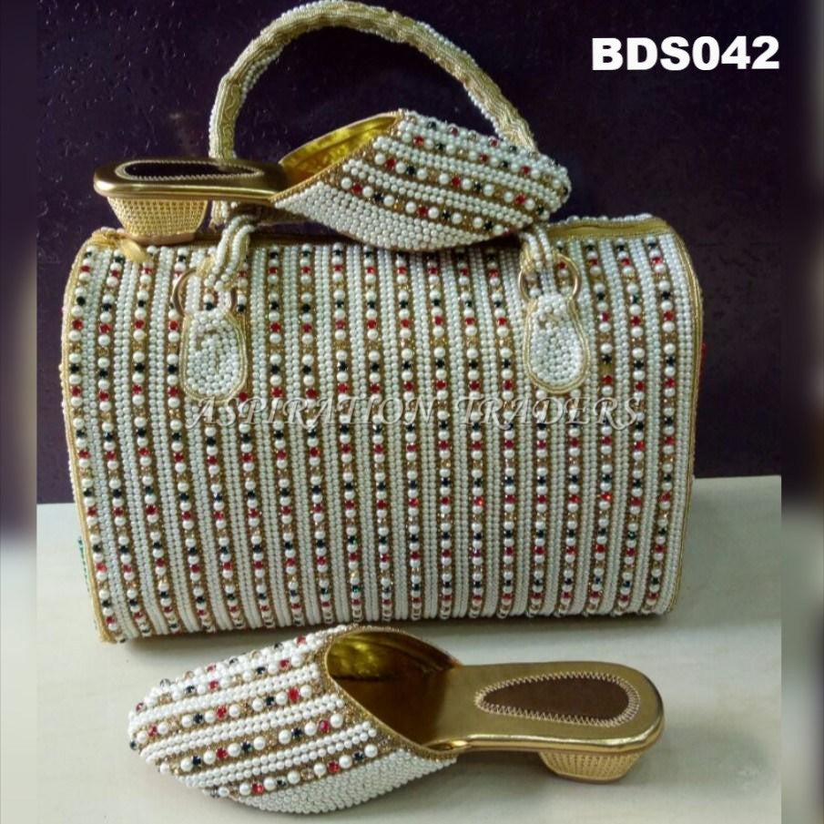 Hand Bag, Clutch & Shoes - BDS042 - Aspiration Traders