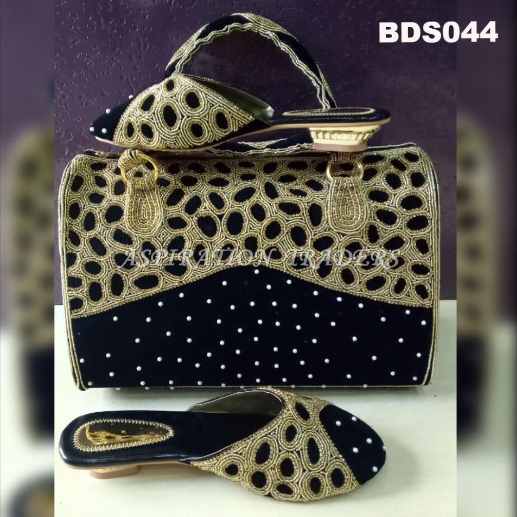 Hand Bag, Clutch & Shoes - BDS044 - Aspiration Traders