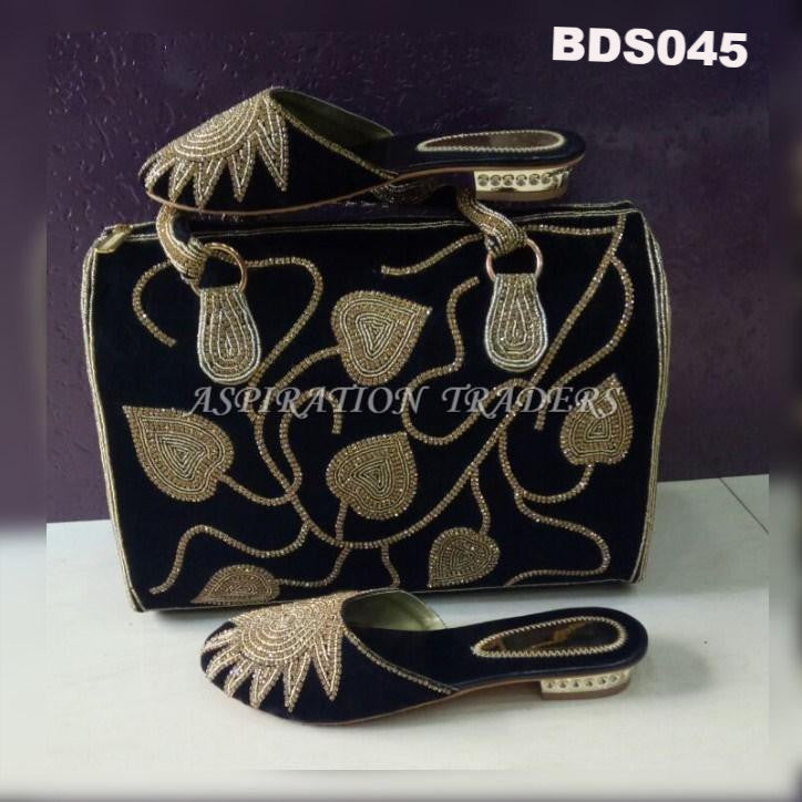 Hand Bag, Clutch & Shoes - BDS045 - Aspiration Traders