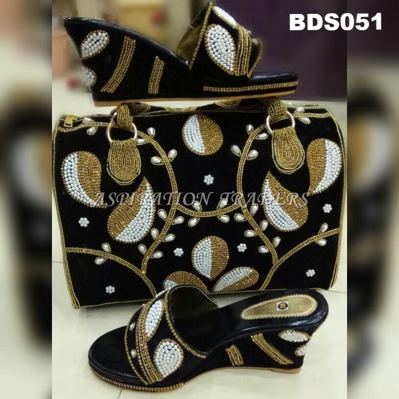Hand Bag, Clutch & Shoes - BDS051 - Aspiration Traders