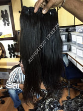 Load image into Gallery viewer, Natural Straight Hair Extensions - Aspiration Traders