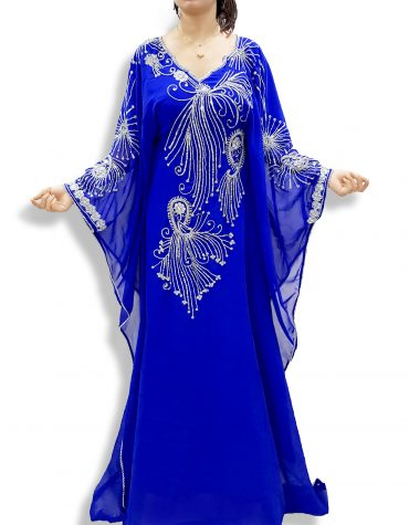 2020 Latest fashion women traditional abaya hot selling long kaftan dress - K035