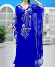 Load image into Gallery viewer, 2020 Latest fashion women traditional abaya hot selling long kaftan dress - K035