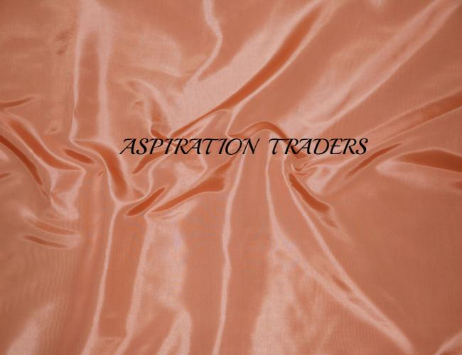 Peach Silk Taffeta Fabric - Aspiration Traders