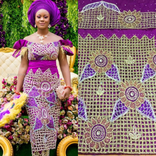Load image into Gallery viewer, New Design Pattern  African George Beaded Designer George - HBDG111