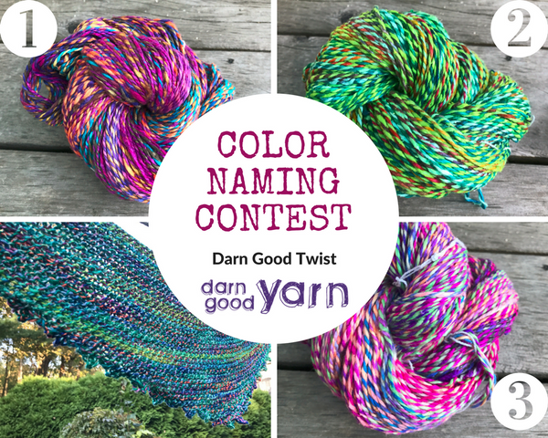 September's Darn Good Color Naming Contest