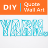 Fun For Yarn Lovers: DIY Quote Wall Art