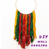 Easy DIY Holiday Wall Hanging using Darn Good Yarn