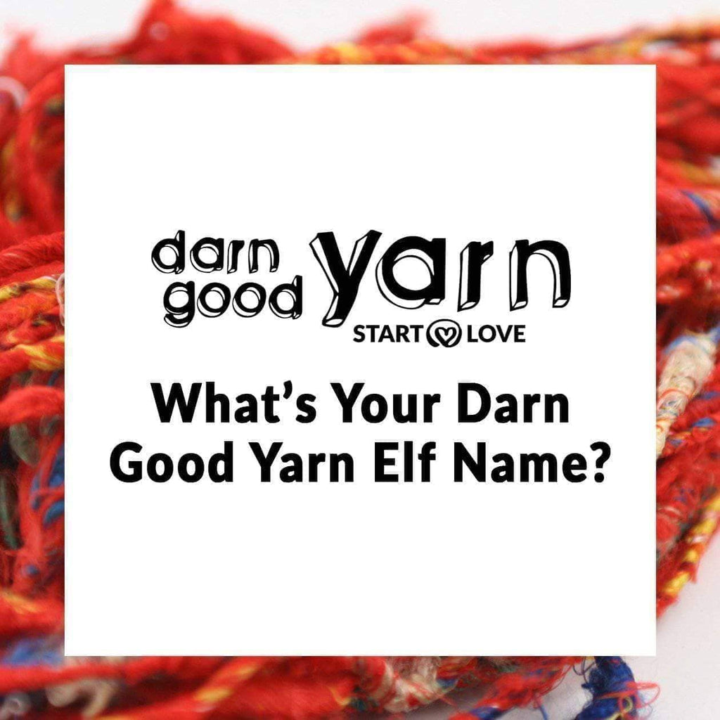 What S Your Darn Good Yarn Elf Name