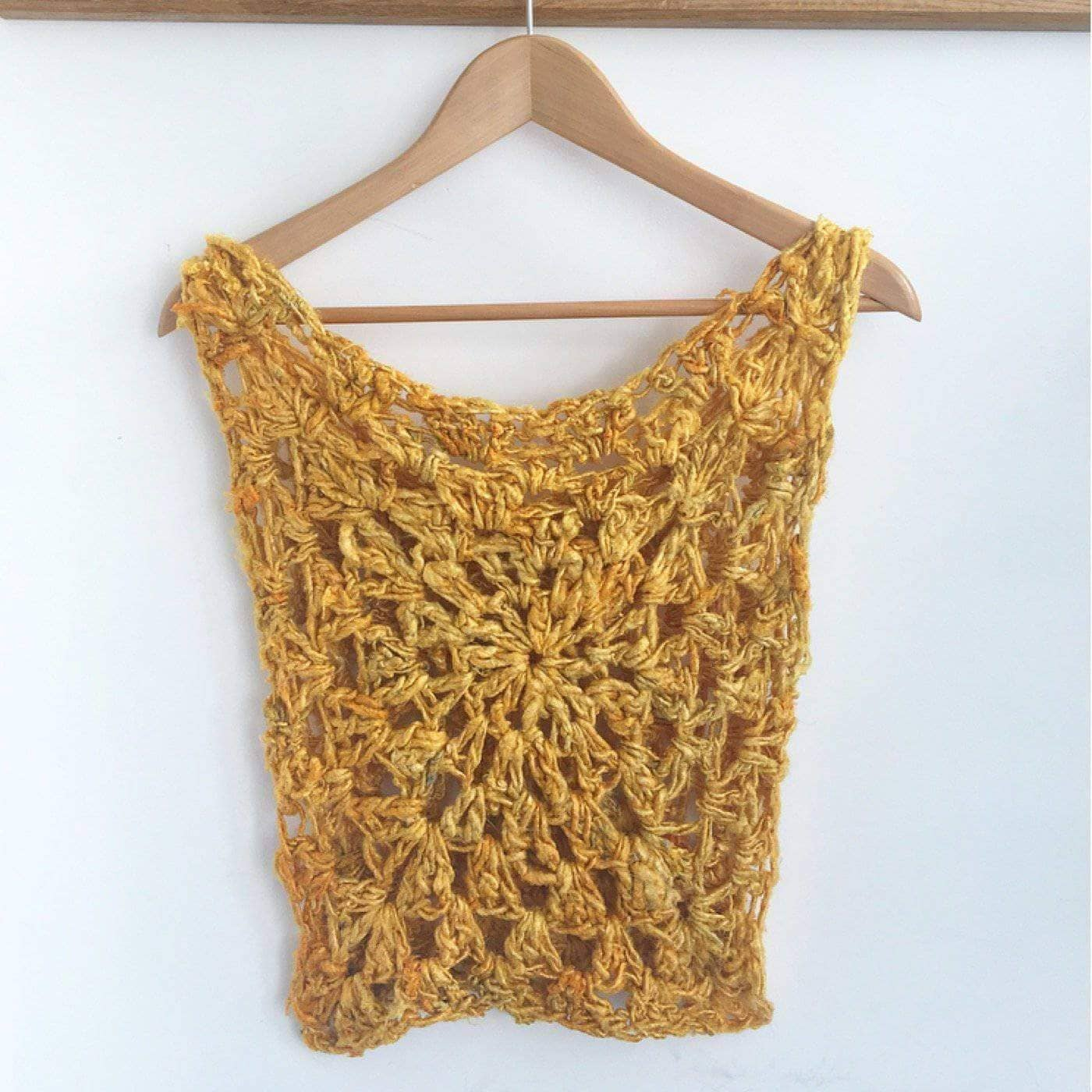 New Pattern Sunny Days Tank Top Darn Good Yarn