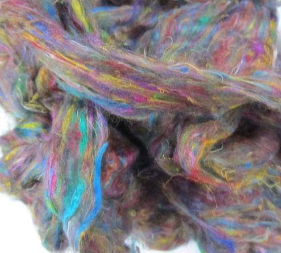 Fun with Silk Roving