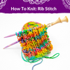 How to Knit: The Rib Stitch