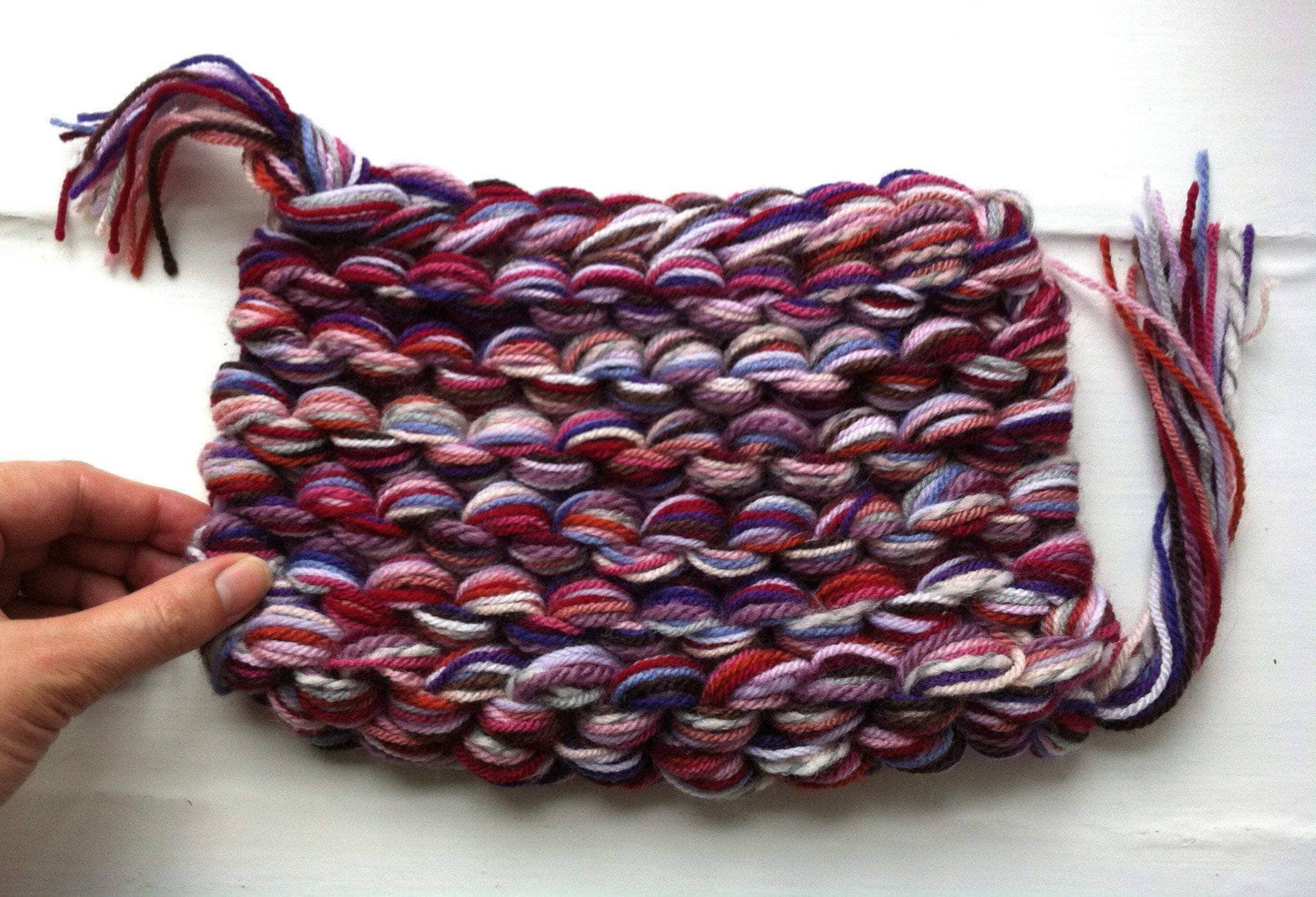 A Darn Good Hack: Knitting with Multiple Strands