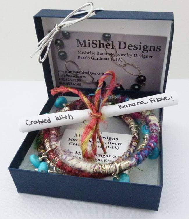 Jewelry Design with Recycled Yarns!