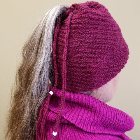 darn good yarn spiral hat