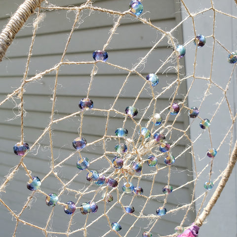Weaving Your DIY Dreamcatcher