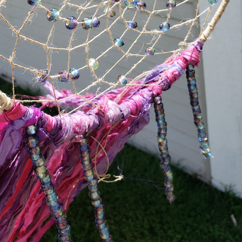 Decorating Your DIY Dreamcatcher