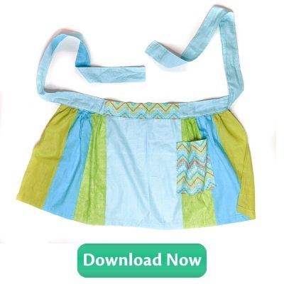 Free Sewing Pattern Download - Grandmas Favorite Apron