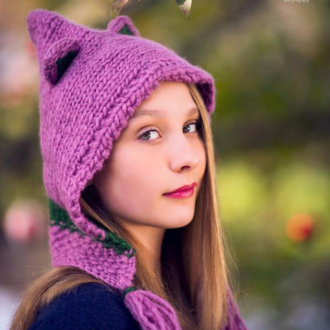 Forest Friends Wool Hat Pattern