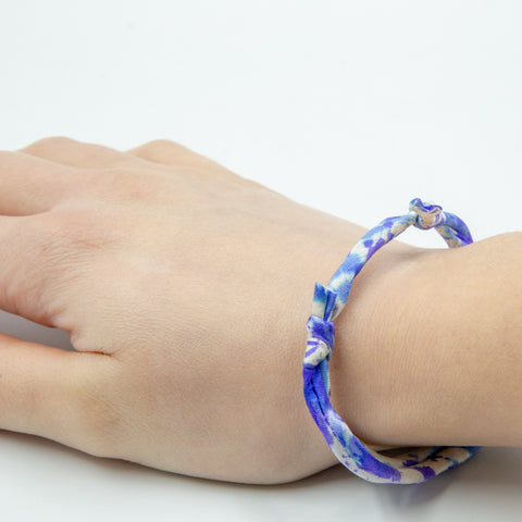 Friendship Bracelet Using Darn Good Piping Cord Ribbon