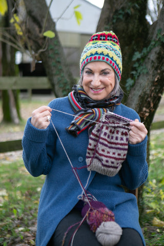 The Power of Knitting, brought to Darn Good Yarn