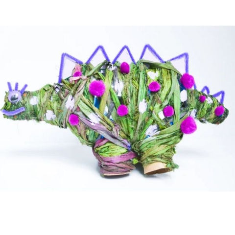 Yarn Wrapped Stegosaurus