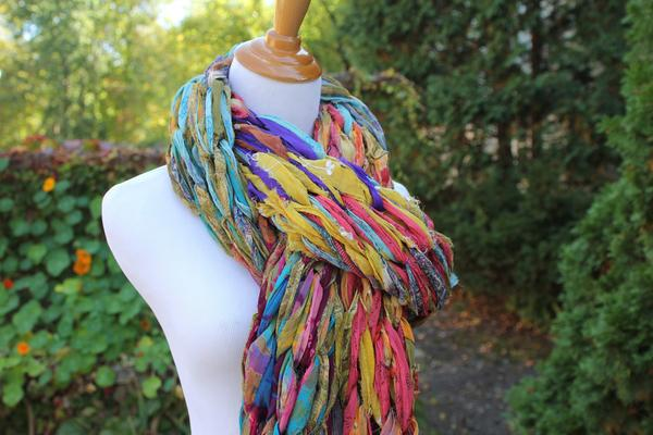 Arm Knit Scarf - Darn Good Yarn