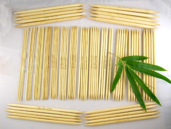 Bamboo knitting needles - darn good yarn