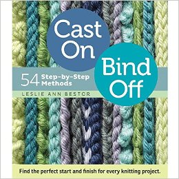 cast on bind off book -darn good yarn