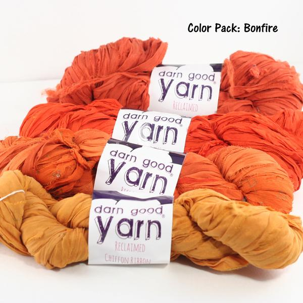 Chiffon Ribbon - Darn Good Yarn