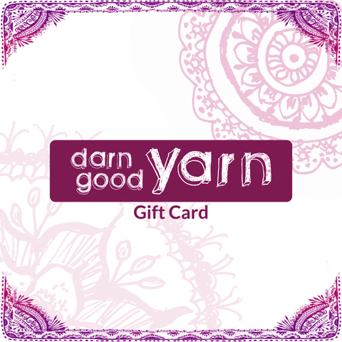 Darn Good Yarn E-Gift Card