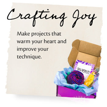Crafting Joy. Make projects that warm your heart and improve your technique.