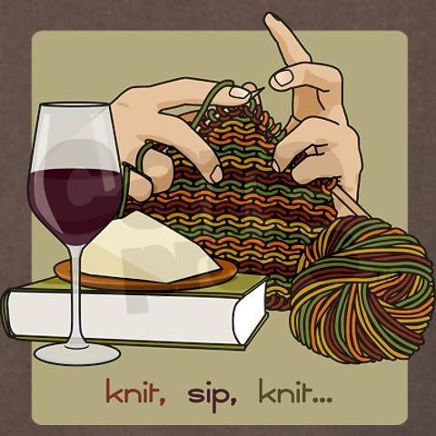 Knit sip - Darn Good Yarn