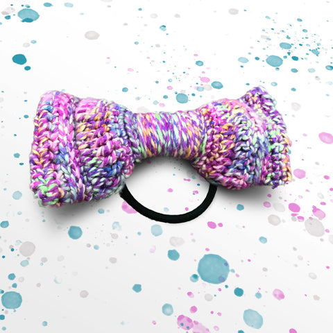 darn good yarn party animal bow