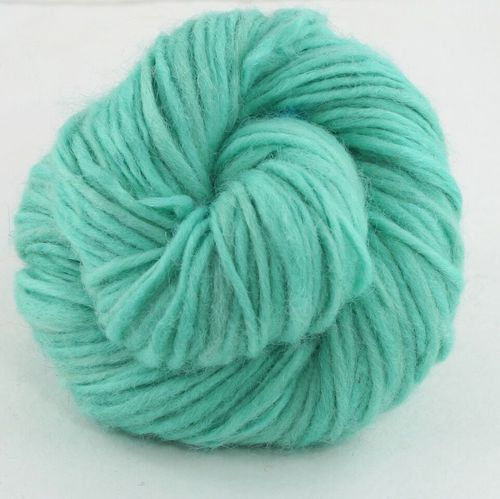 turquoise skein of yarn
