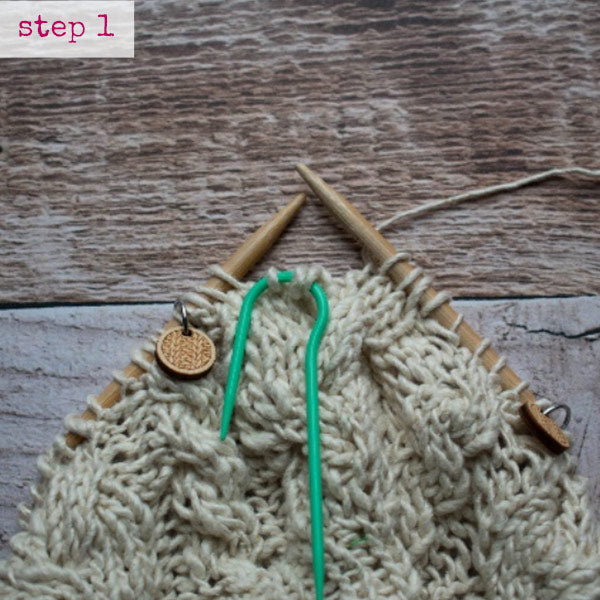 How To Knit Cable Stitches And Ssk Darn Good Yarn
