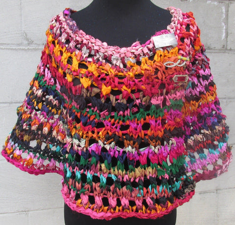 darn good yarn springy capelet