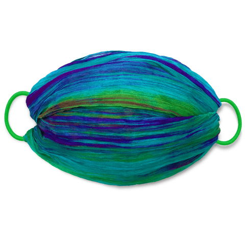 Deluxe Hand-dyed Multi Purpose Silk Mask