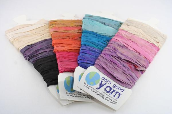 Yarn and Ribbon Sample Cards