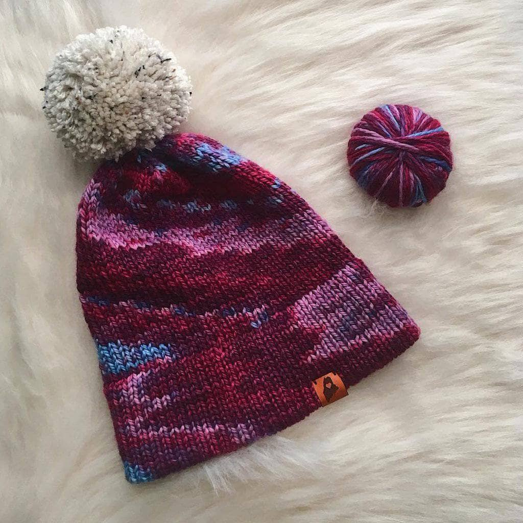 Classic Double Brim Hat Kit - Darn Good Yarn