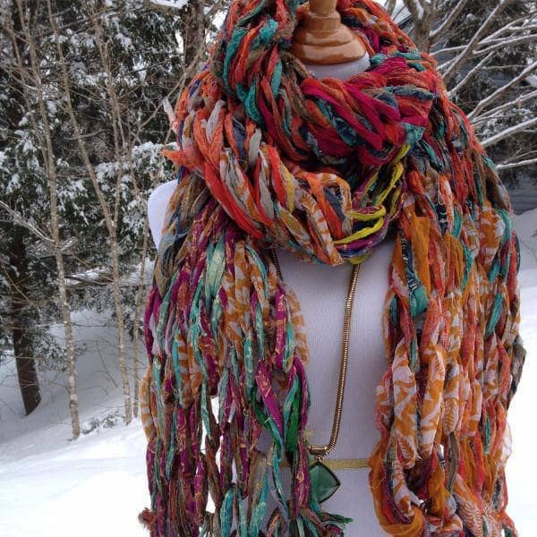 30 Minute Arm Knit Scarf Kit