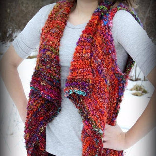 Adventure Cardi Banana Fiber Yarn Kit