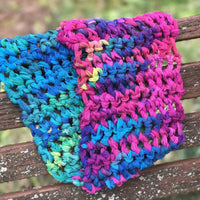 Ombre Rainbow Cowl Craft Kit