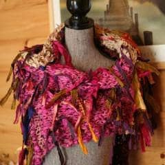 """About to Bloom"" Wrap EASY Knit Pattern- Digital Download"